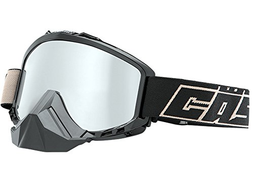 Castle Force Snowmobile Goggles-Black by Castle X