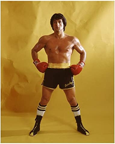 Sylvester Stallone like Rocky Balboa 8x10 photo