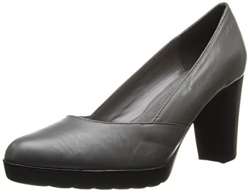 Zari Leather Gravel Bella Leather Vita Platform Women's qaTnaWBSF