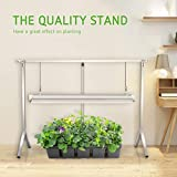 VIVOSUN T5 4 Feet Foldable Grow Light Stand Rack