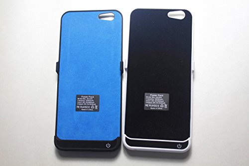 Monkey Cases® SCHWARZ - 3200mAh Externe Power Case - Backup Akku für iPhone 6 4,7 Zoll Hülle - ORIGINAL