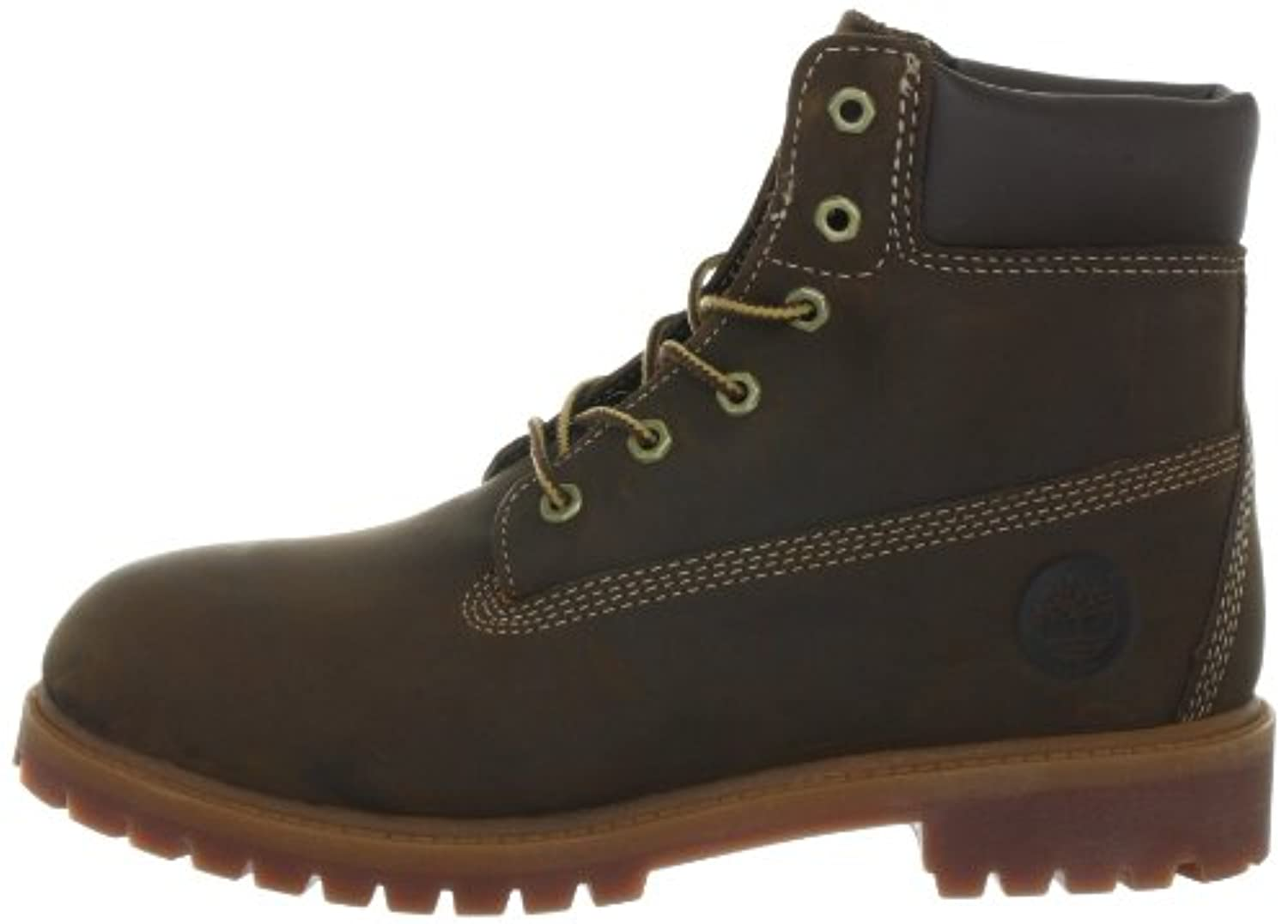 Timberland Authenic Waterproof, Boys' Boots, Brown, 7 UK Child