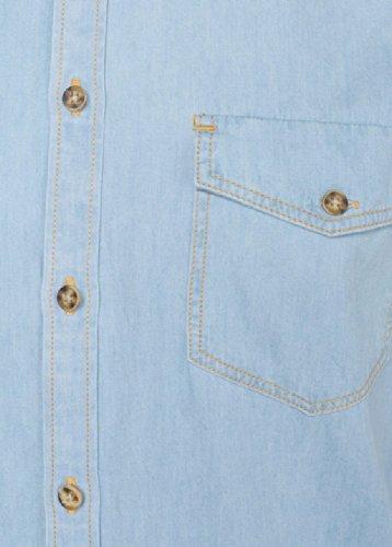 Kasey minimum chemise light blue jeans (bleu)