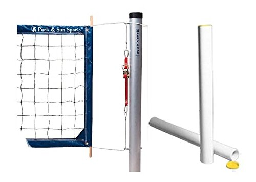 Park & Sun Sports Tournament 4000 Volleyball Net System Accessory: Ground Pole - Net Poles Volleyball