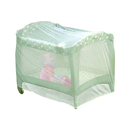 Playpen Net - Nuby Playpen Netting, Playpen Net, Pack n Play Netting, Baby Playpen Mosquito Net, Pack N Play Mosquito Net Tent, Play Yard Kid Insect Mesh Cover, Baby Playpen Net, Universal Size, White