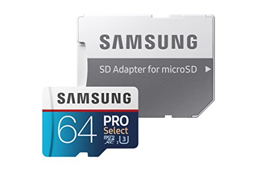 Samsung MicroSD PRO Select Memory Card With Adapter