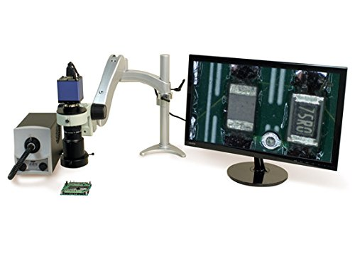 Aven 26700-103-20 Macro Video Inspection System w/HDMI 1080P Color Camera on LW Stand