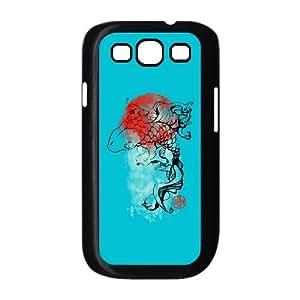 Ink Koi Samsung Galaxy S3 9300 Cell Phone Case Black HX4427969