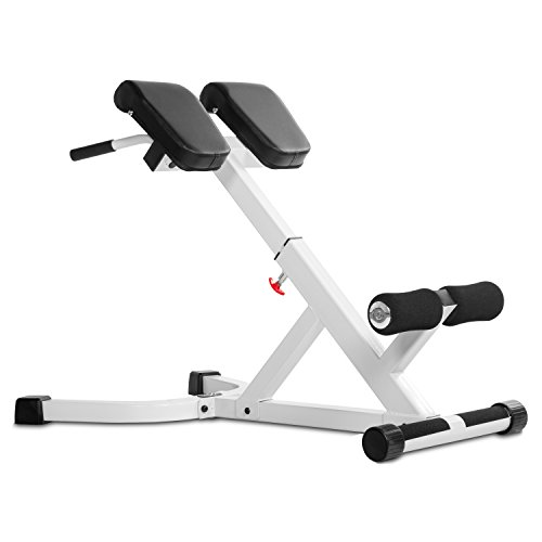 XMark Fitness XM-4428-WHITE Ab & Back Equipment