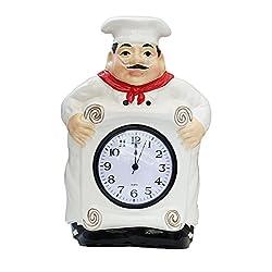 Fat Chef Kitchen Wall Clock Decoration