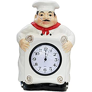 Excellent Fat Chef Kitchen Wall Clock Decoration Home Interior And Landscaping Transignezvosmurscom