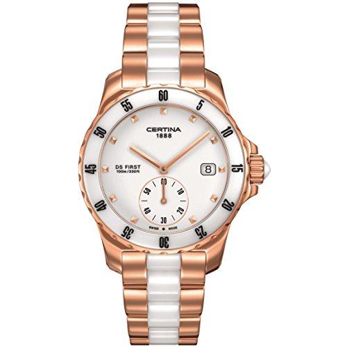 Certina - Wristwatch, Analog Quartz, Stainless Steel, Woman