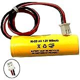 1.2v 900mAh Exit Sign Emergency Light NiCad Battery Replacement Unitech AA900mAh CUSTOM-332 OSA268 ELB CS01 Lithonia EXR…