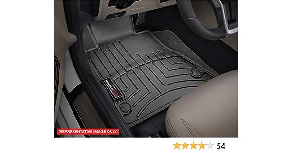 Coverking Custom Fit Front Floor Mats for Select Honda Civic Models Black Nylon Carpet