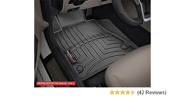 WeatherTech Custom Fit Rear FloorLiner for Select Dodge Ram Models 440042 Black