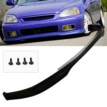96 98 Honda Civic Type R PU Front Bumper Lip Spoiler Kit