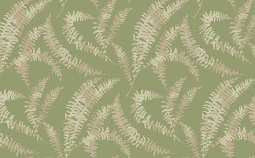(1905-125-04 - Capri Fern Leafy Trails Olive Green 1838 Wallpaper )
