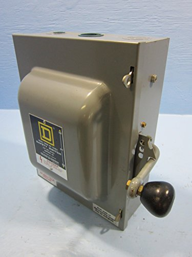 Square D 82262 Safety Switch Series E2 - Square D Manual Transfer Switch