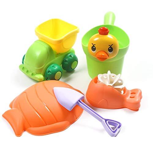 Juego de herramientas de plástico blando para la playa ...