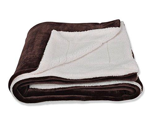 SOCHOW Sherpa Fleece Throw Blanket, Double-Sided Super Soft...