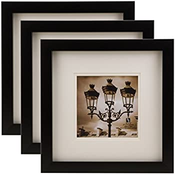 Amazon Bordertrends Nova 12x12 Inch Square Wall Frame With Mat