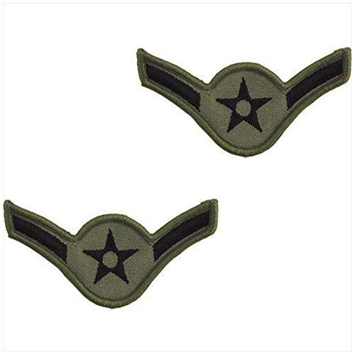 - Vanguard AIR FORCE EMBROIDERED CHEVRON: AIRMAN - SMALL ABU