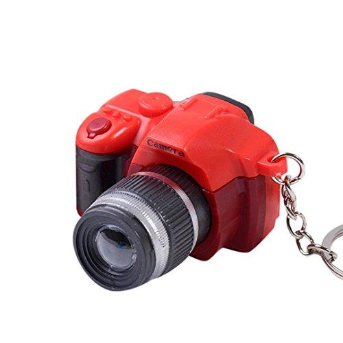 DZT1968 Women girl Newly Mini Toy Camera Charm Keychain key ring With Flash Light&Sound Gift - Mini Button Toys
