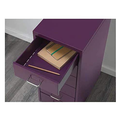 HELMER IKEA - Cajonera con Ruedas (28 x 69 cm), Color Morado ...