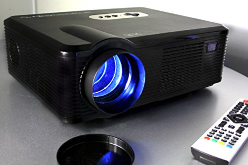 720P LED LCD Video Projector, Fugetek FG-857, Home Theater Cinema projector, Multi Inputs