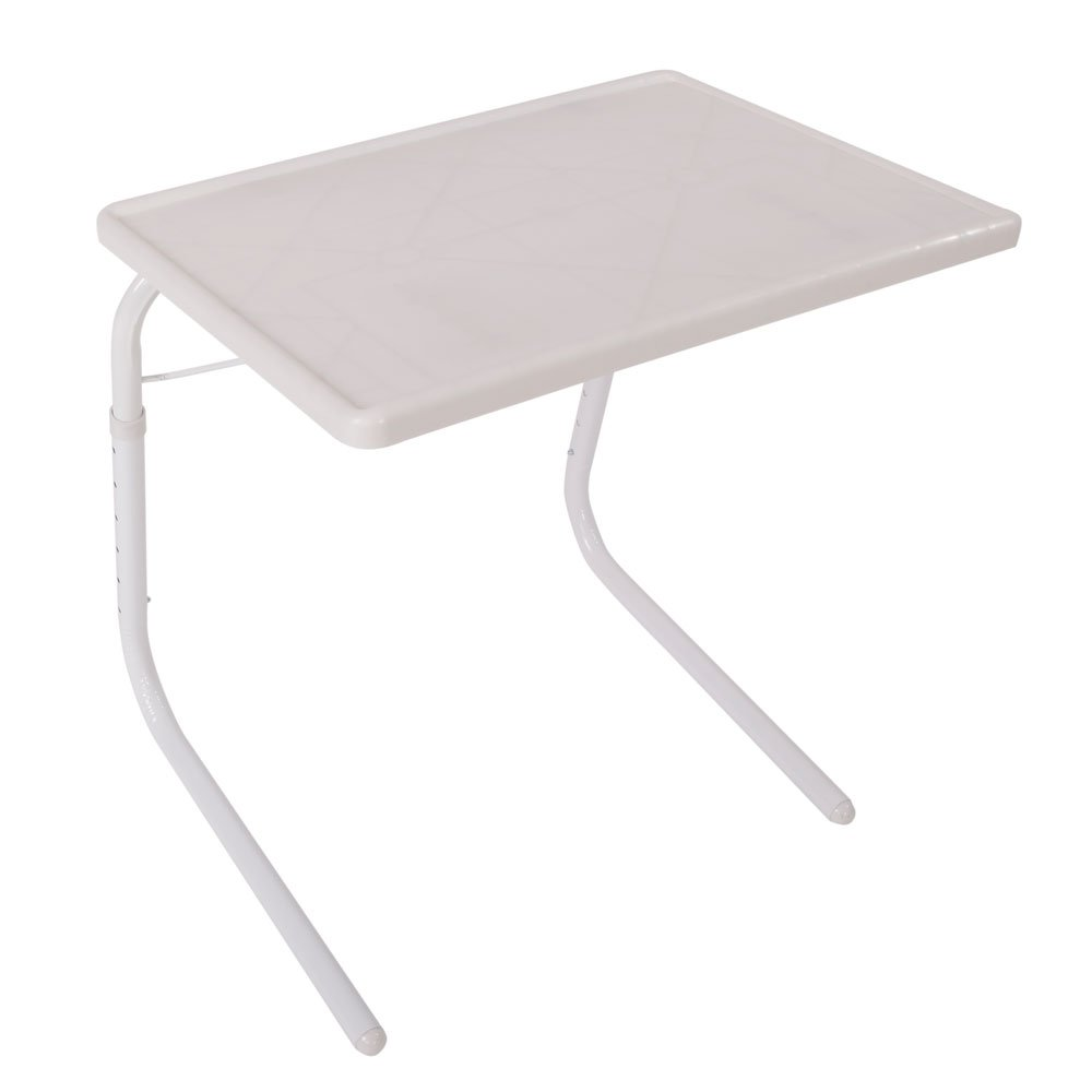 Acmelife Adjustable Tray Table TV Tray, Portable Folding Snack Table, Adjustable Sofa Side Table for Breakfast, Bed Table, Foldable Desk for Home use (TV Tray) by Acmelife