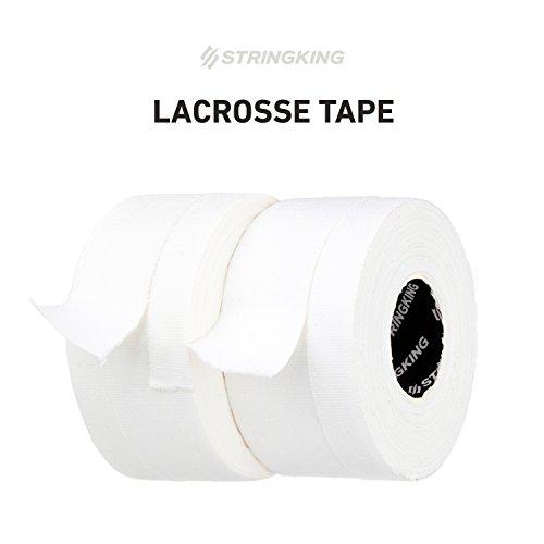 StringKing Lacrosse Tape (2 Pack), White/White (Best Tape For Lacrosse Stick)