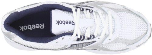 Reebok Men's Pheehan Running Shoe,White/Silver/Navy,11 M US