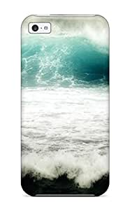 Awesome MDNVnhC14046TaKwH CagleRaymondy Defender Tpu Hard Case Cover For Iphone 5c- Ocean