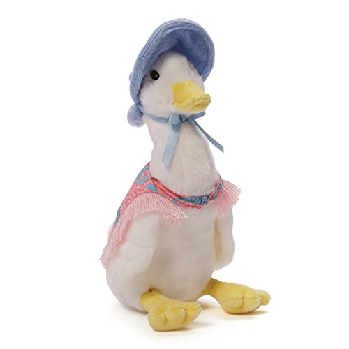 Gund 4048909 Classic Beatrix Potter Jemima Puddleduck Stuffed Animal Plush