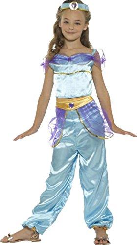 Arabian Princess Costume Blue Medium Age 7-9 (Arabian Costumes For Girls)