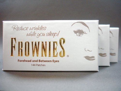 Frownies (FBE) Forehead & Between Eyes, 144 Patches (3) pack by Frownies