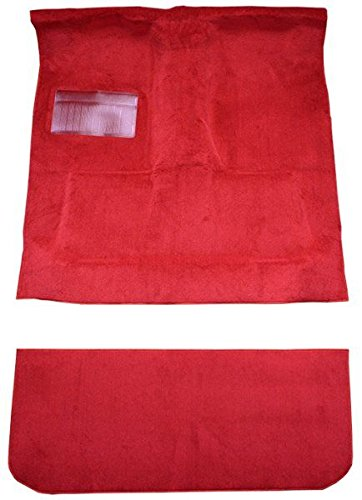 Mist Curtain - 1978 to 1979 Dodge Lil Red Express Carpet Custom Molded Replacement Kit, Complete Carpet With Rear Curtain (8019-Mist Grey Plush Cut Pile)