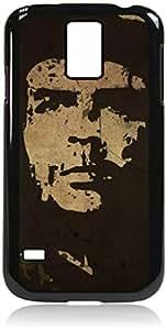 Che Guevara-Hard Black Plastic Snap - On Case-Galaxy s5 i9600 - Great Quality!