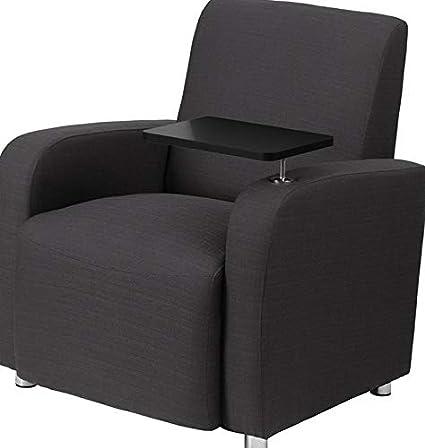 Groovy Amazon Com Mikash Contemporary Guest Lounge Chair In Gray Inzonedesignstudio Interior Chair Design Inzonedesignstudiocom