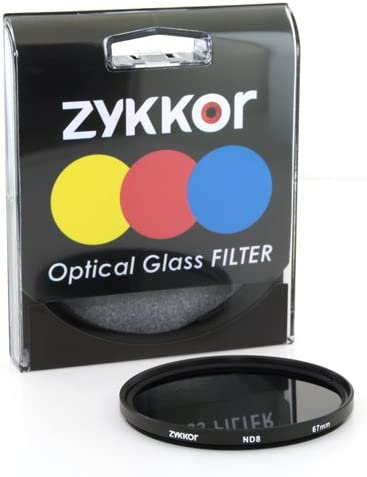 Zykkor 67mm Neutral Density ND4 0.6 ND 4 HD Optical Glass Filter