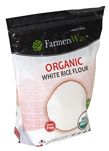 Farmers Way Organic White Rice Flour 100% Natural 48 - Sale India Online