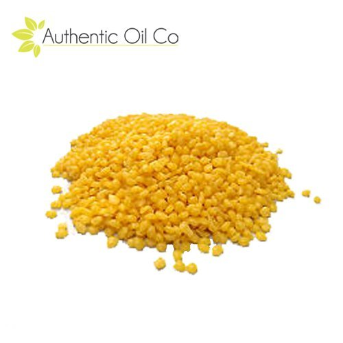 Foundation Pellets - Yellow Beeswax Pellets 100% Pure Cosmetic Grade 100 Grams