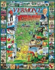 Weiß Mountain Puzzles Best of Vermont 1000 Piece Jigsaw Jigsaw Piece Puzzle by Weiß Mountain Puzzles 0907c8