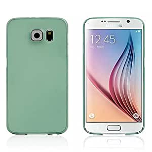 ZX Ultra-thin Protective Soft Back Case with Screen Protector for Samsung Galaxy S6 (Assorted Colors) , Dark Red