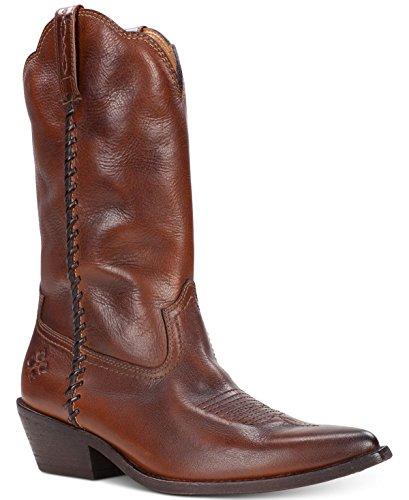 - Patricia Nash Bergamo Boots Whiskey Leather 8.5M