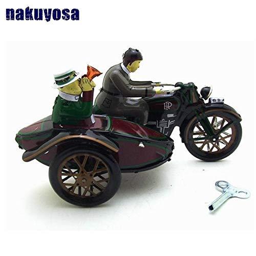 MS804PAYA Three Wheeled Motorcycle Collection Nostalgic Toys Cars Model Boy's Toys ()