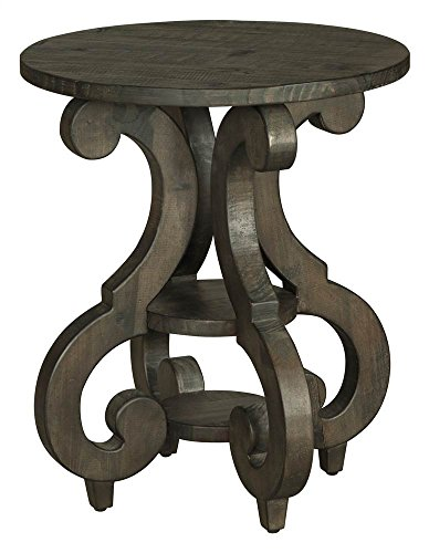 Magnussen T2491-35 Bellamy Round Accent End Table, 26