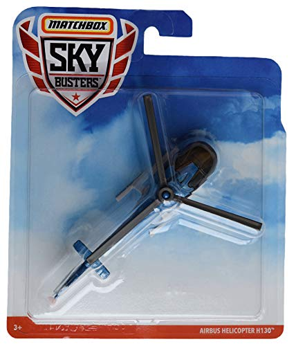 Matchbox Sky Busters Airbus Helicopter H130, Blue/Black