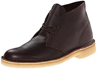 CLARKS Men's Desert Chukka Boot, Brown Tumbled Leather, 9.5 M US (B00INC0HPU) | Amazon price tracker / tracking, Amazon price history charts, Amazon price watches, Amazon price drop alerts