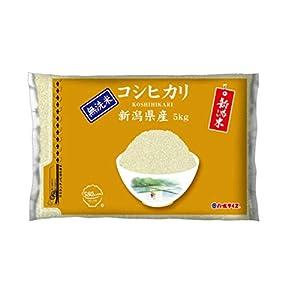 【精米】[Amazon限定ブランド] 580.com 新潟県産 無洗米 コシヒカリ 5kg 令和2年産